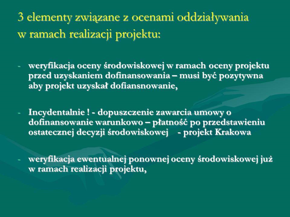 Kryterium merytoryczne - 0/1 - zgodność projektu z wymaganiami prawa dotyczącego ochrony środowiska.