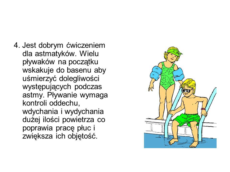 5.Nie wymaga kosztownego i wymyślnego sprzętu. To prawda: nie musisz wydawać tysięcy aby pływać.