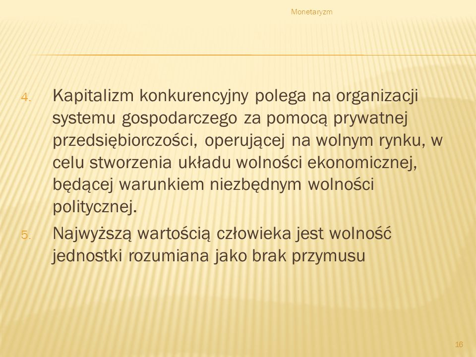 Monetaryzm 16 4.