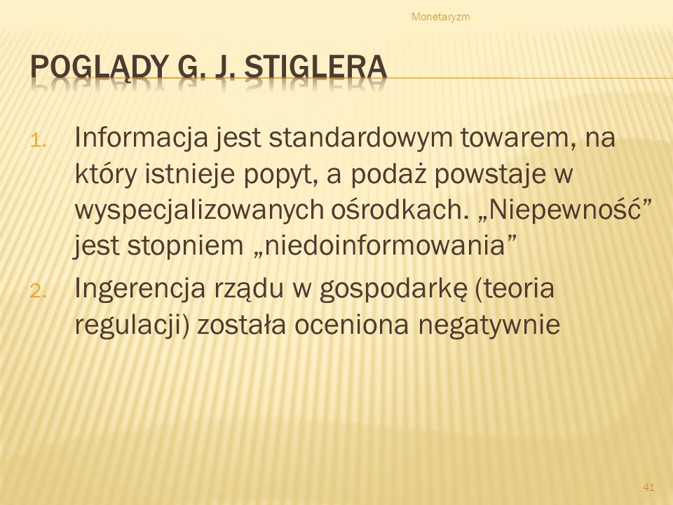 Monetaryzm 41 1.