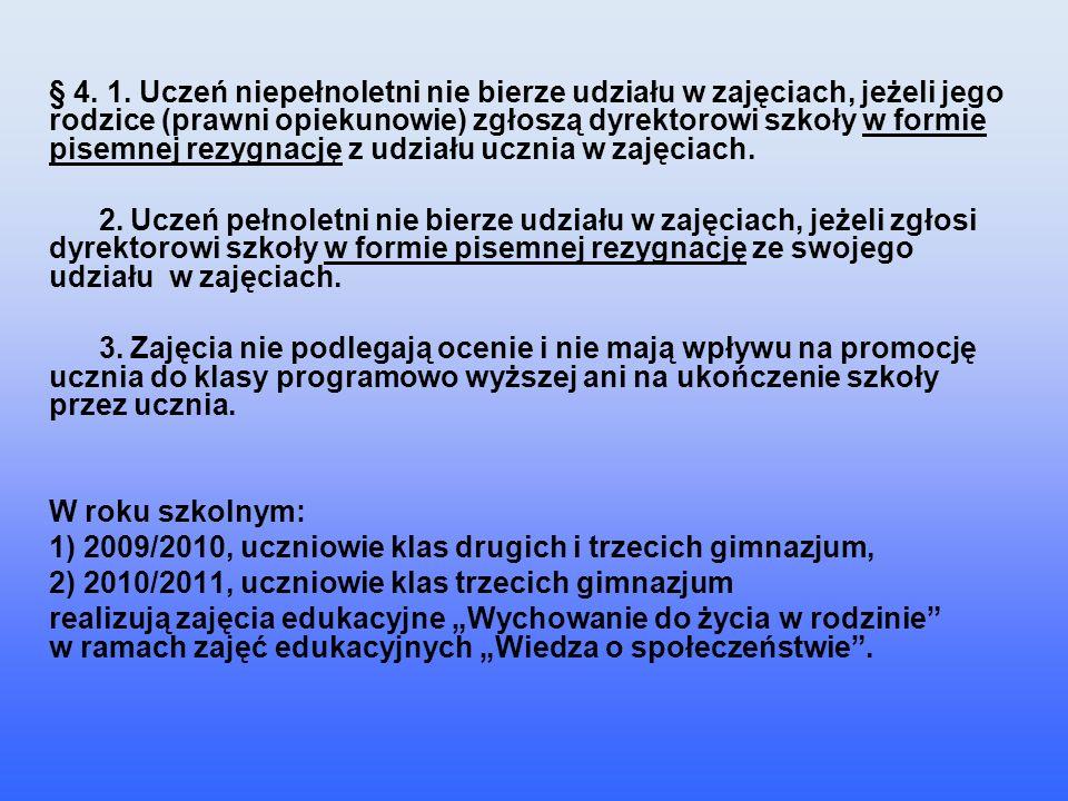 Ustawa z dnia 7 września 1991 r.o systemie oświaty o systemie oświaty w art.