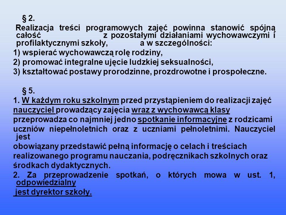 Rozporządzenia Ministra Edukacji Narodowej i Sportu z dnia 26 lutego 2002 r.