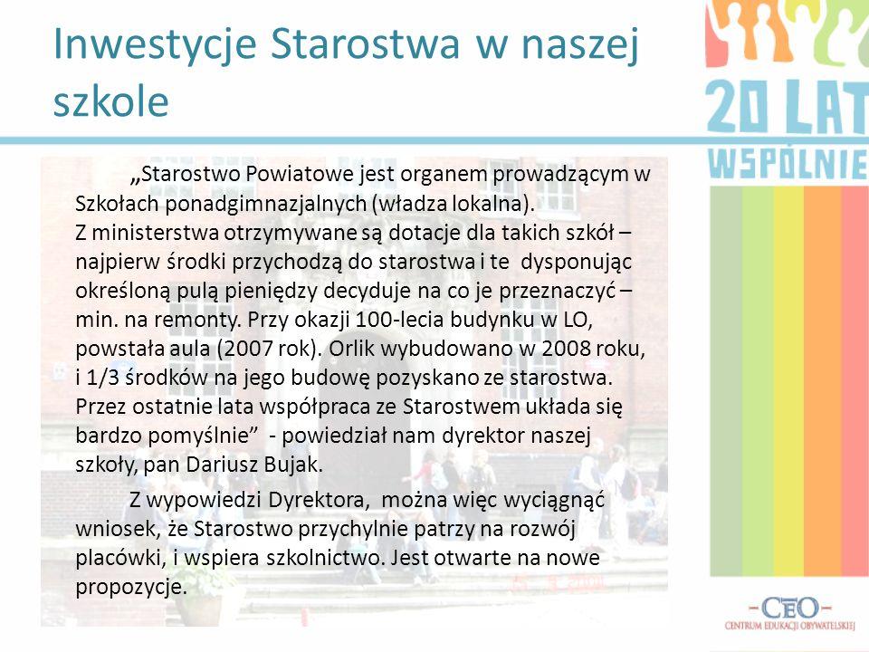 Pozostałe ważne inwestycje naszego starostwa Starostwo Powiatowe w Ostródzie z powodzeniem zarządza szpitalem w Ostródzie, który jest instytucją przynoszącą zyski oraz stale rozwijającą się.