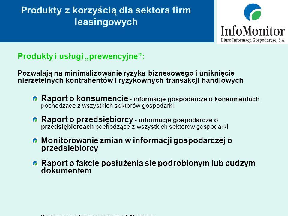Jak wygląda raport z informacjami gospodarczymi