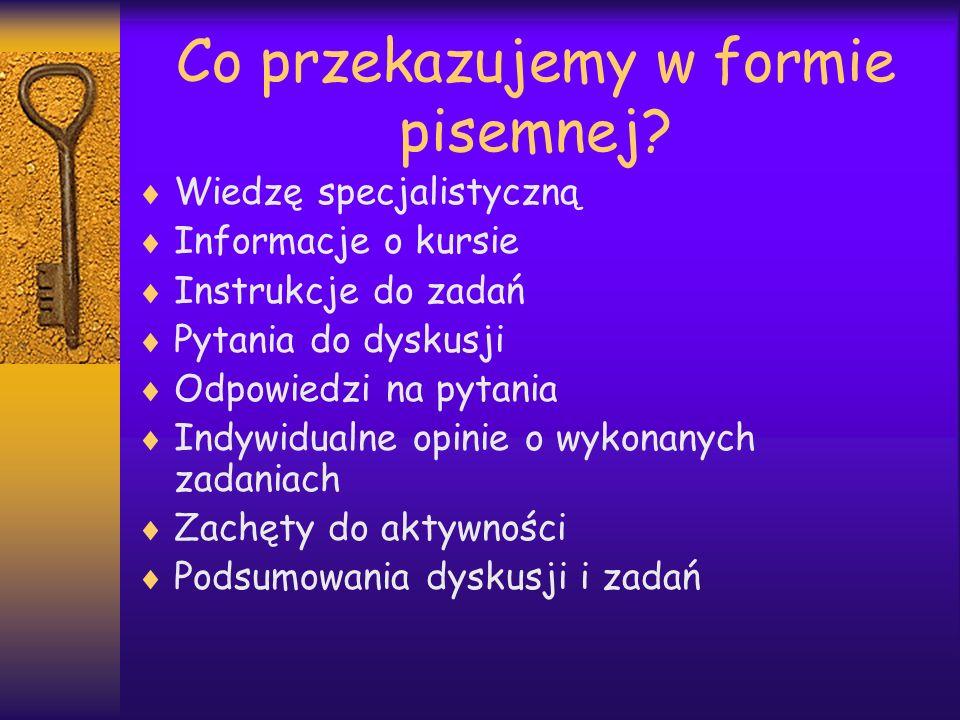 Jakie odmiany i style języka pisanego w e- nauczaniu.