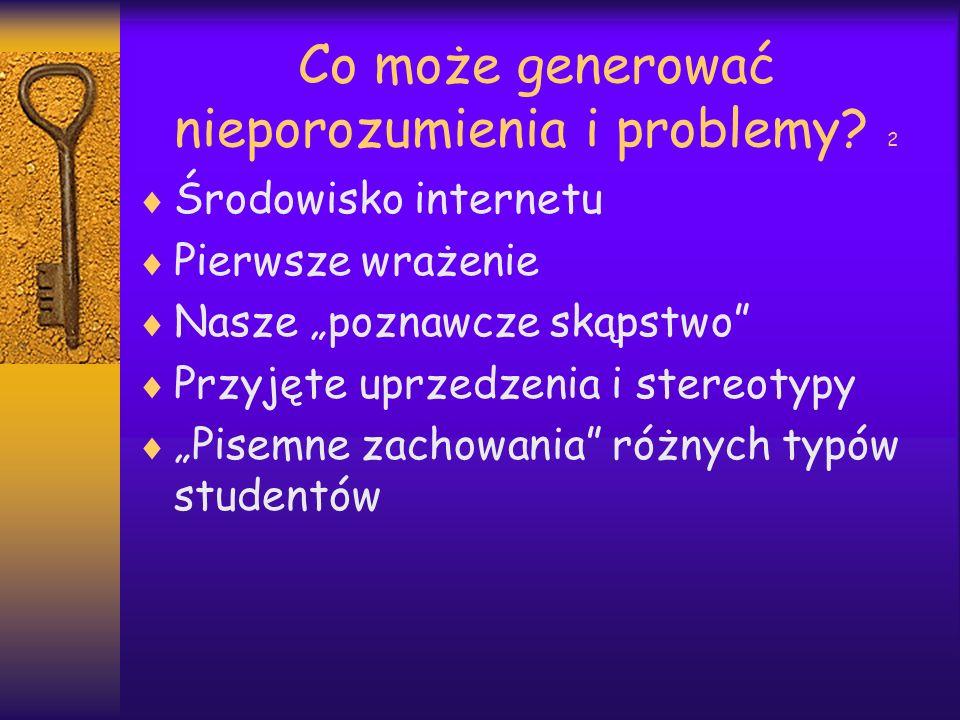 Typy studentów online wg S.Ko, St.