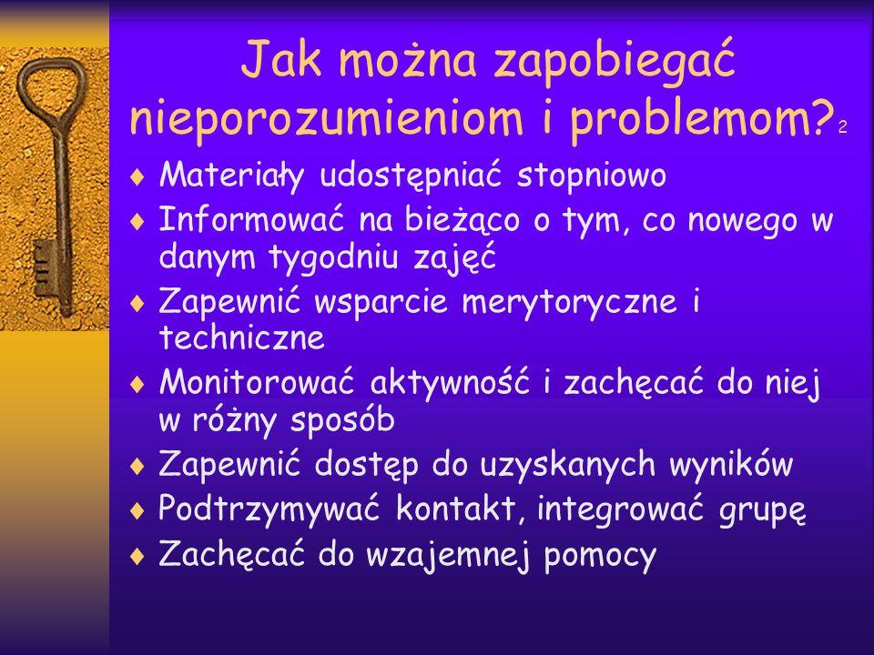 Jak można zapobiegać nieporozumieniom i problemom.