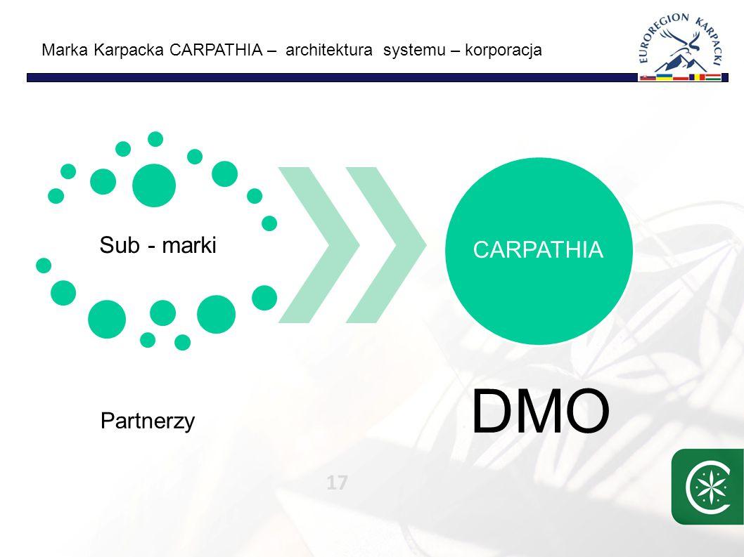 Marka Karpacka CARPATHIA – procesy – plan pracy 18 Wizja/strategia Audyt/ Analiza Produkty/ programy