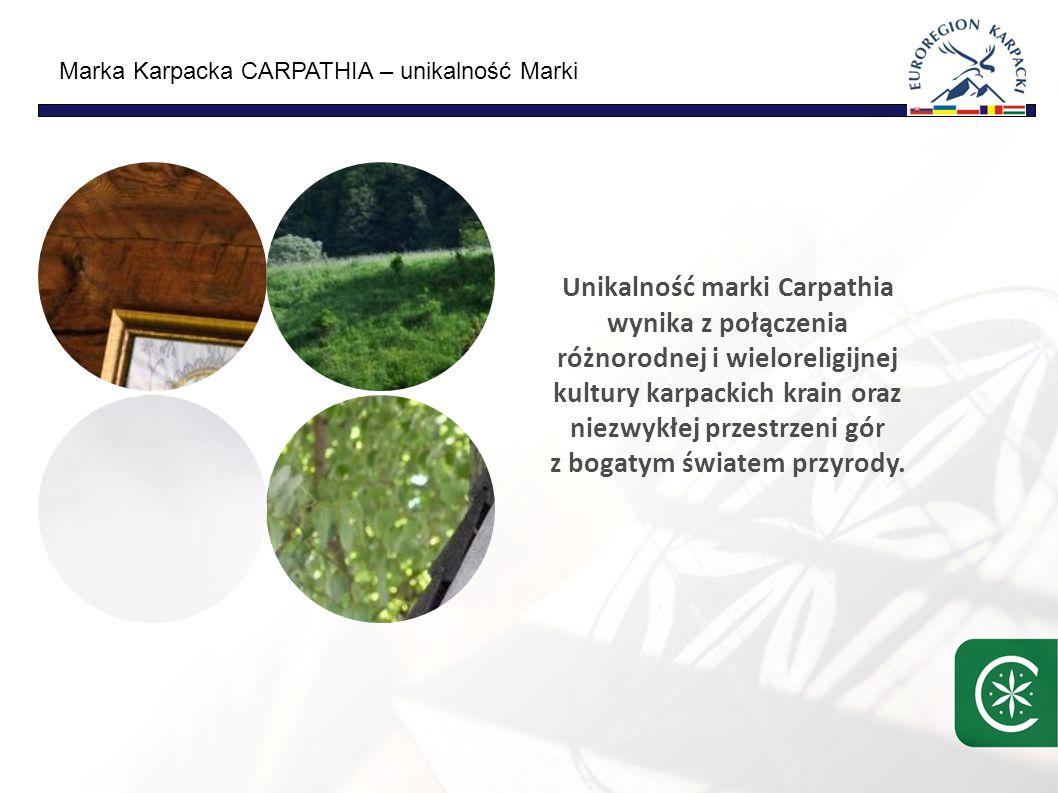 Marka Karpacka CARPATHIA – Misja Zapewnić przestrzeń i warunki do refleksji/namysłu nad życiem i poznaniem samego siebie