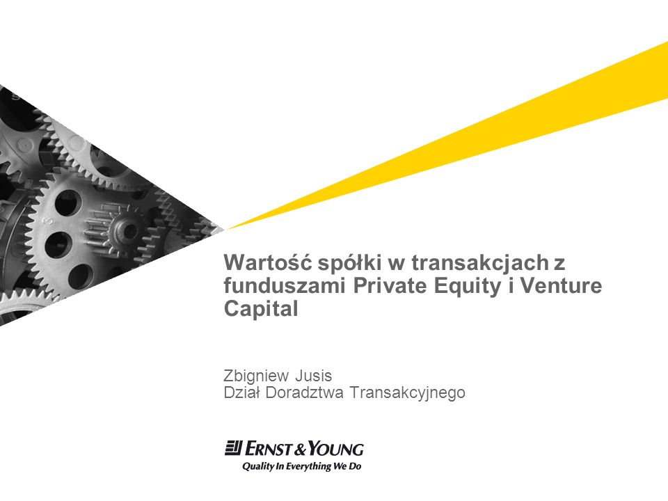 Page 2 Wartość spółki w transakcjach z funduszami PE/VC Plan prezentacji Wycena w procesie transakcyjnym 1 Metodologia wyceny 2 Determinanty wartości 3 System zarządzania wartością 4