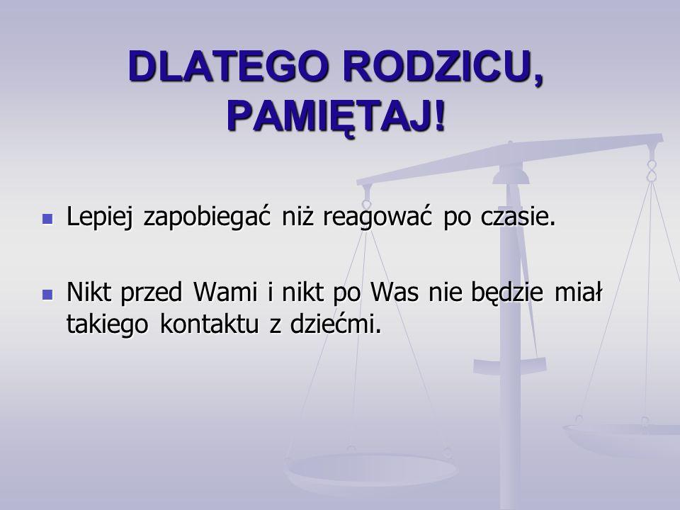 Warto zajrzeć www.kidprotect.pl www.kidprotect.pl /nauczyciele /nauczyciele /certyfikat /certyfikat www.sieciaki.pl www.sieciaki.pl www.dzieckowsieci.pl www.dzieckowsieci.pl www.interklasa.pl www.interklasa.pl www.niebieskalinia.pl www.niebieskalinia.pl www.dyzurnet.pl www.dyzurnet.pl www.kopd.pl www.kopd.pl www.brpd.gov.pl www.policja.pl www.nowaera.pl www.swierszczyk.pl www.pspolska.pl www.opiekun.pl www.niania.infologis.com.pl www.adalex.pl/motyl www.cenzor.com.pl