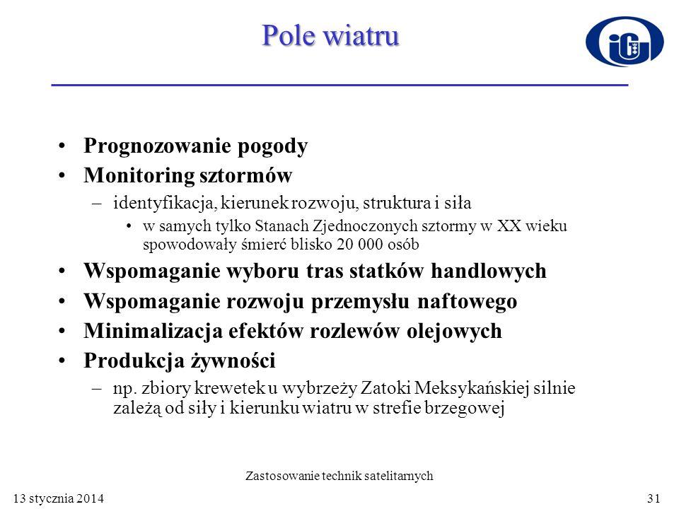 Zjawiska lodowe http://manati.wwb.noaa.gov/cgi-bin/qscat_ice.pl 13 stycznia 201432
