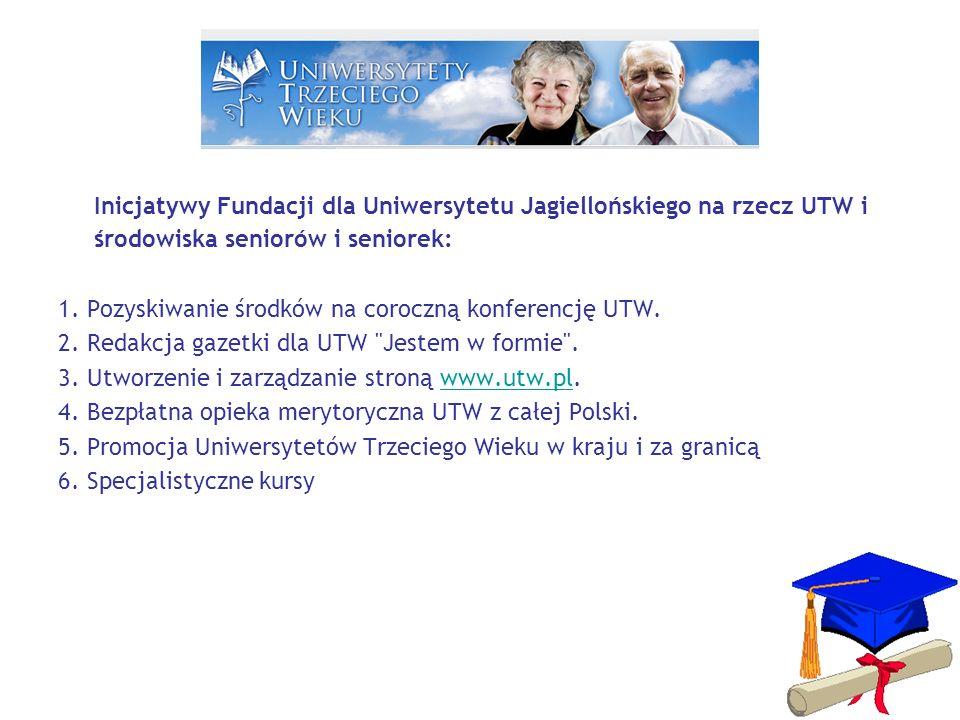 STRONA UTW – WWW.UTW.PL Aktualności Fundacja dla UJ UTW w Polsce To warto wiedzieć Ludzie UTW Konferencje Jestem w Formie Koalicje UTW AIUTA Kongres AIUTA 2012 FORUM Linki Akredytacja Kontakt Moje Hobby ZAPRASZAMY DO WSPÓŁPRACY PRZY REDAGOWANIU STRONY