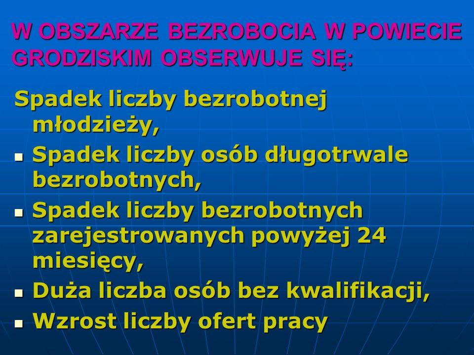 Dziękuję za uwagę Hanna Wilamowska Hanna Wilamowska Dyrektor Dyrektor Powiatowego Urzędu Pracy Powiatowego Urzędu Pracy w Grodzisku Mazowieckim w Grodzisku Mazowieckim
