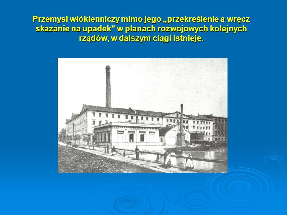 Pozycja przemysłu włókienniczego w krajowej gospodarce Według specjalistów z PKPP Lewiatan rynek polski w okresie 2005-2007 rozwijał się w tempie 10% rocznie, a firmy odzieżowe z powodzeniem rozwijały swoje marki i sieci sprzedaży.