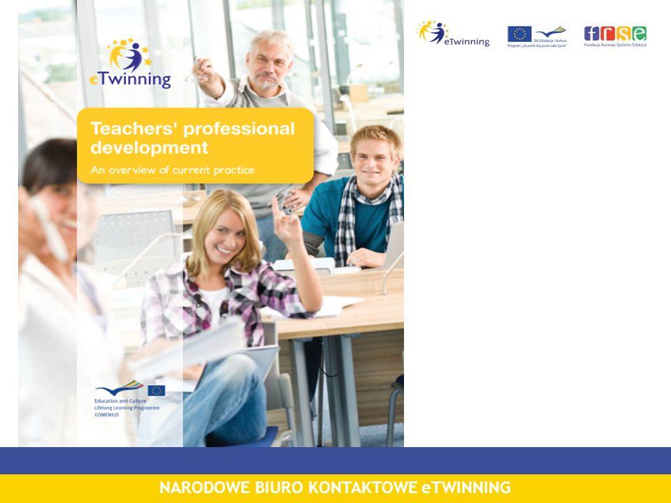 eLearning 1.0 czyli kurs I poziomu dla początkujących Internetowy kurs dla początkujących Jak uczestniczyć w programie eTwinning?: bardzo popularny wśród nauczycieli realizowany od 2006 r.