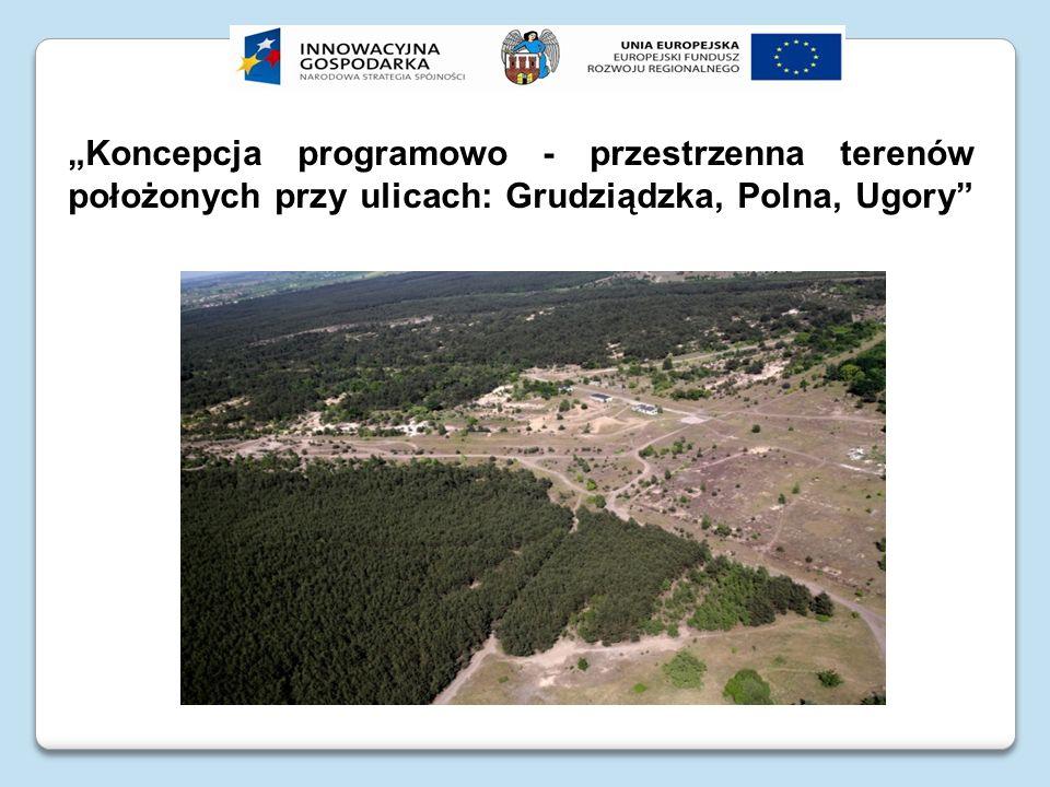 Miejscowy plan zagospodarowania przestrzennego 1.02.2007 roku Rada Miasta Torunia podjęła uchwałę nr 51/07 w sprawie miejscowego planu zagospodarowania przestrzennego dla terenów położonych w rejonie ulic: Grudziądzkiej, Polnej i Ugory.