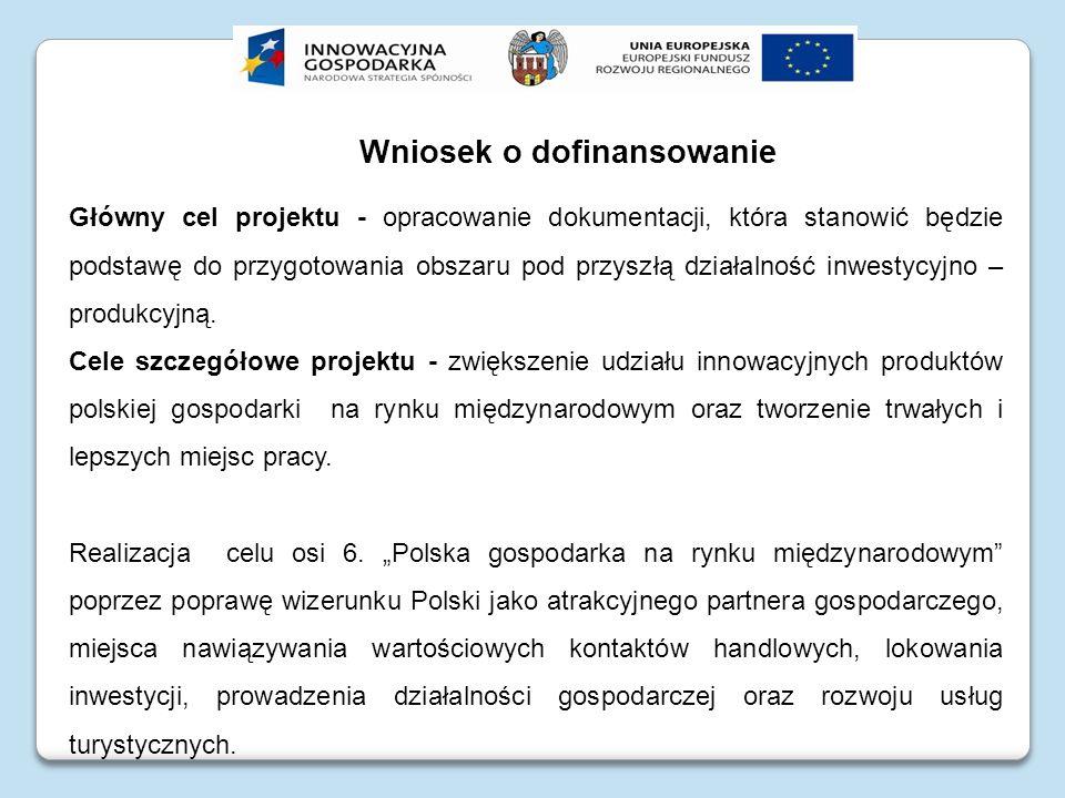 Uchybienia formalne w złożonym wniosku o dofinansowanie dla projektu pn.