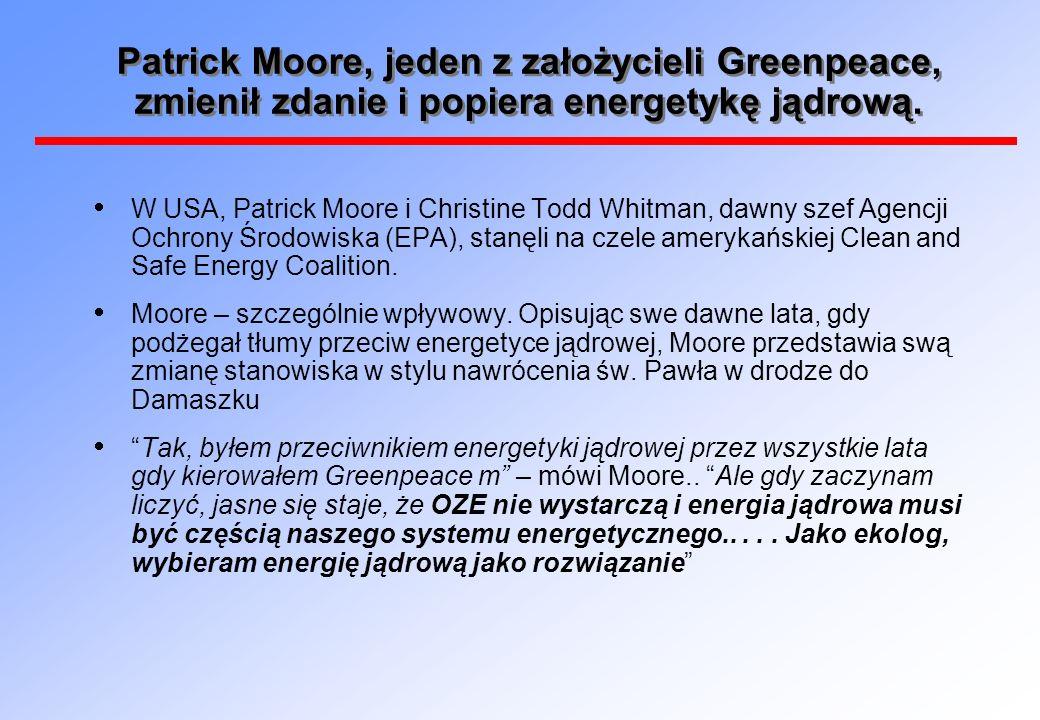 Patrick Moore: Kto jest prawdziwym ekologiem...