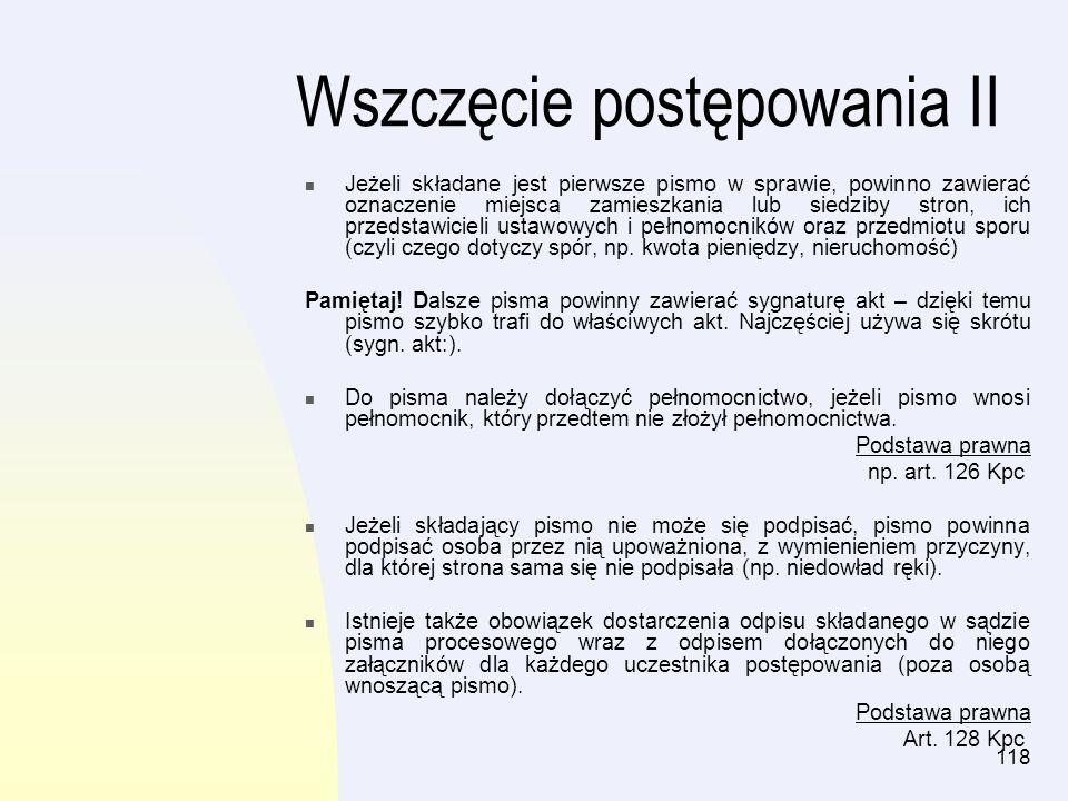 119 Przykład 1 Jan Nowak pozwał o zapłatę solidarnie dwie osoby.