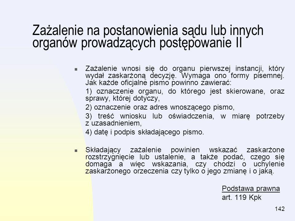 143 Rozdział IX Koszty sprawy cywilnej Spis treści: Słownik pojęćstr.