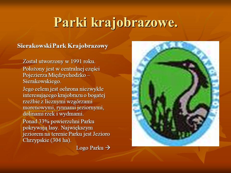 Parki krajobrazowe.