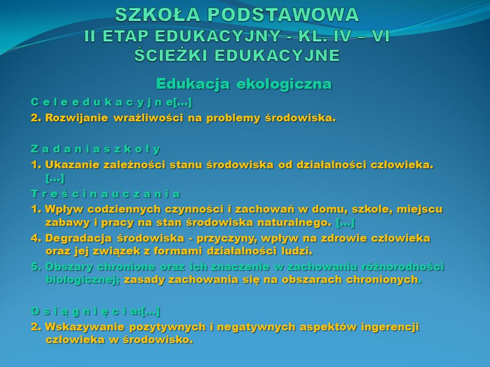 Edukacja prozdrowotna Z a d a n i a s z k o ł y […] 4.