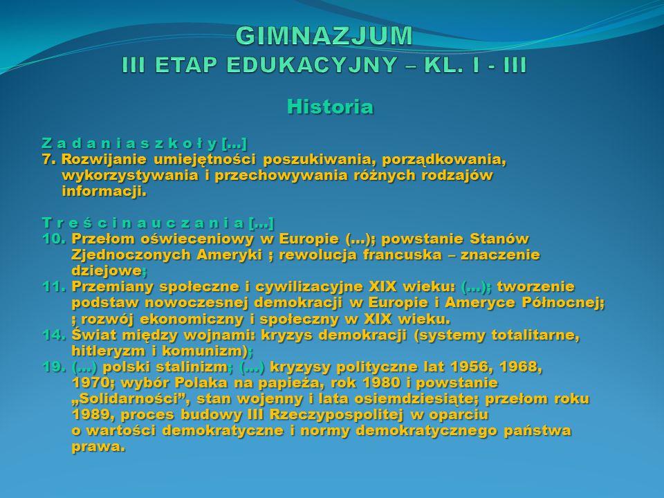 Historia O s i ą g n i ę c i a […] 7.