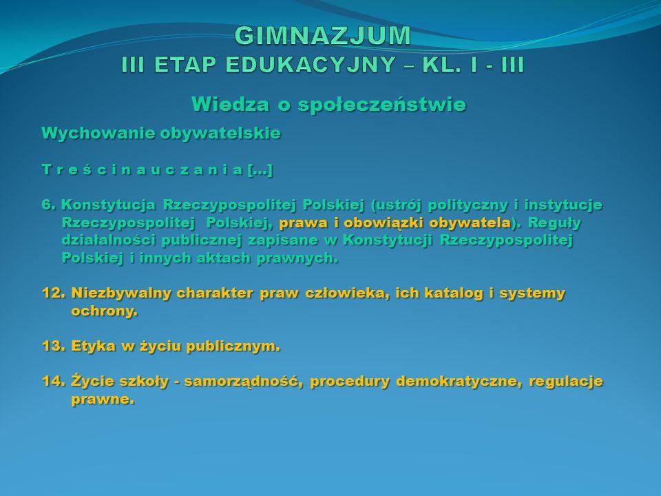 Wiedza o społeczeństwie Wychowanie obywatelskie O s i ą g n i ę c i a […] 2.
