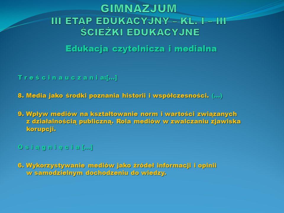Edukacja ekologiczna Z a d a n i a s z k o ł y 1.