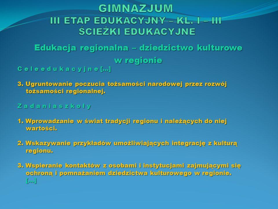Edukacja regionalna – dziedzictwo kulturowe w regionie T r e ś c i n a u c z a n i a […] 6.