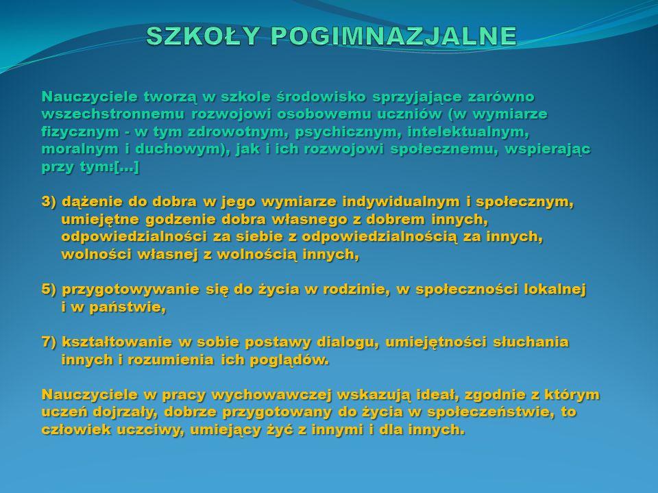 Język polski C e l e e d u k a c y j n e 1.