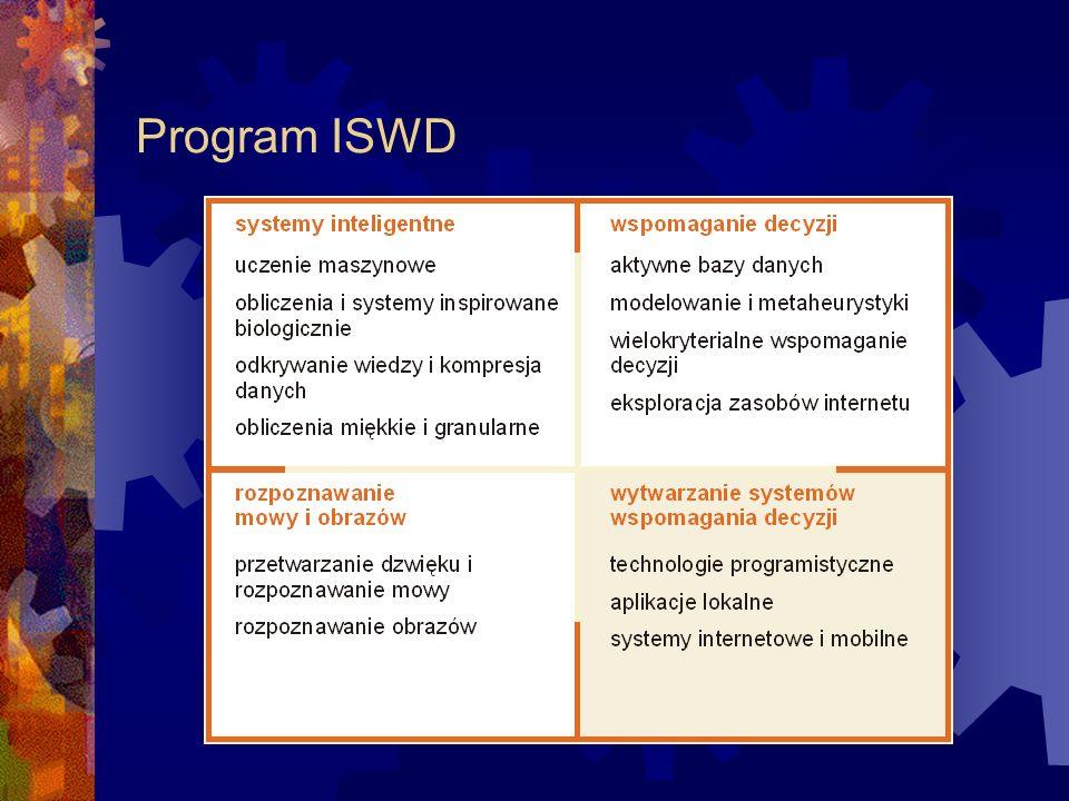 Semestr VII Uczenie maszynowe i sieci neuronowe Aktywne bazy danych Technologie programistyczne