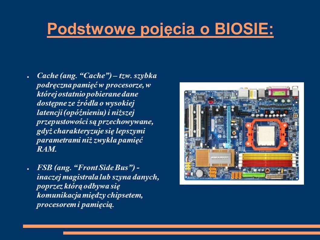 Podstawowe pojęcia o BIOSIE cdn.Mnożnik (ang.
