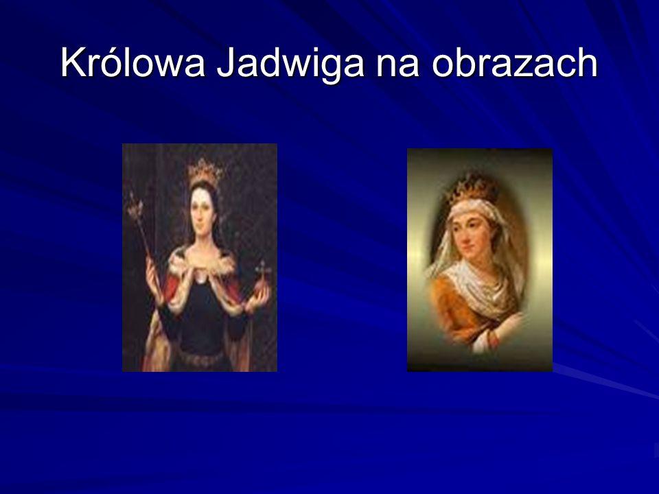 Królowa Jadwiga Herb i kielich królowej