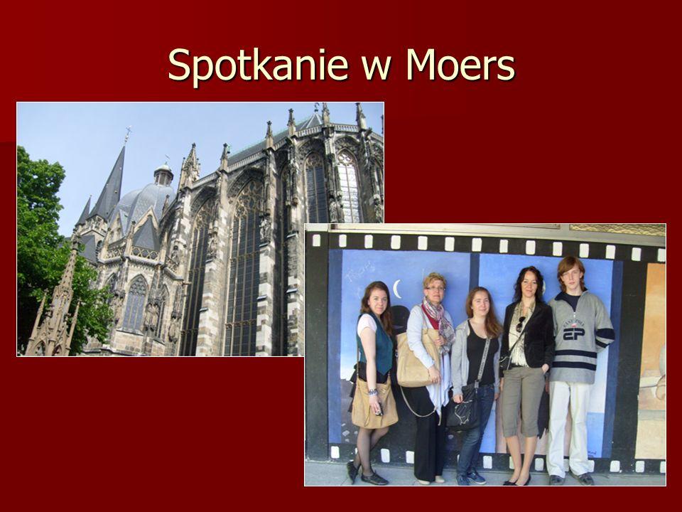 Produkty projektu Finalnym produktem była wystawa plakatów, która odbyła się w czasie spotkania w Moers, Niemcy.