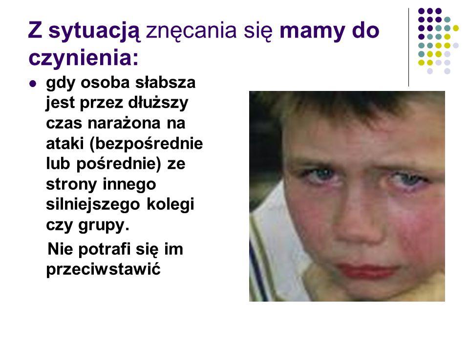 Przemoc w rodzinie Przemoc w rodzinie charakteryzuje się tym, że: jest intencjonalna, tzn.