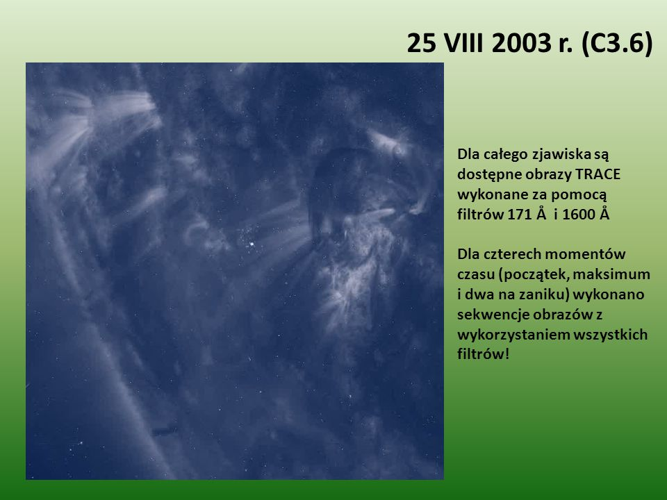 25 VIII 2003 r. (C3.6)