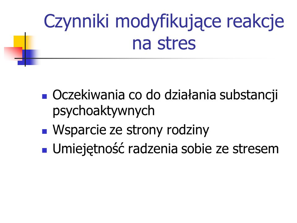 Używanie substancji jako forma samoleczenia Hipoteza Khantzian'a (1997) – jednostka używa substancji psychoaktywnych, aby złagodzić symptomy i dolegliwości wynikające z innych pierwotnych trudności o charakterze intrapsychicznym.