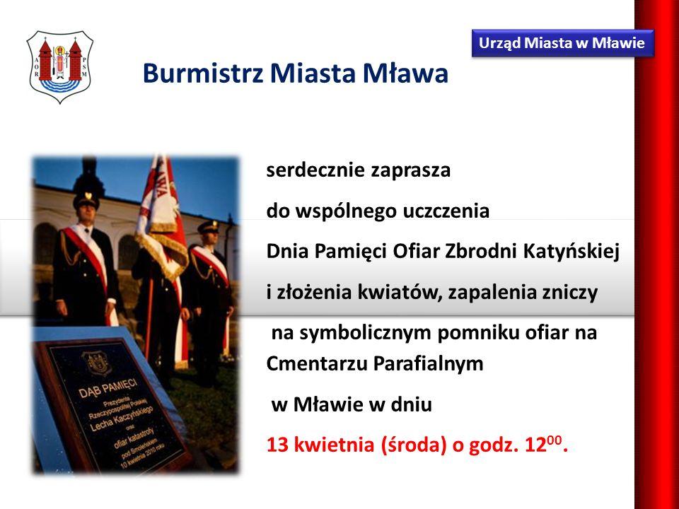 Burmistrz Miasta Mławy Parafia św.