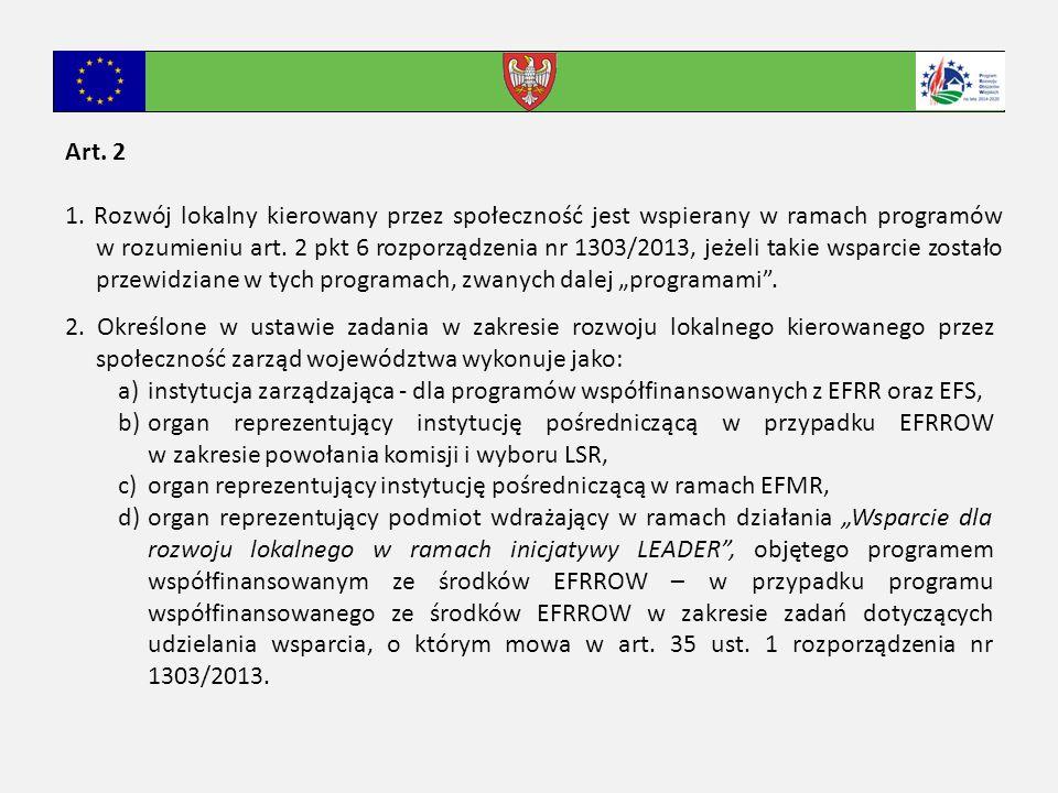 Art.3 1. Komisję, o której mowa w art. 33 ust. 3 rozp.