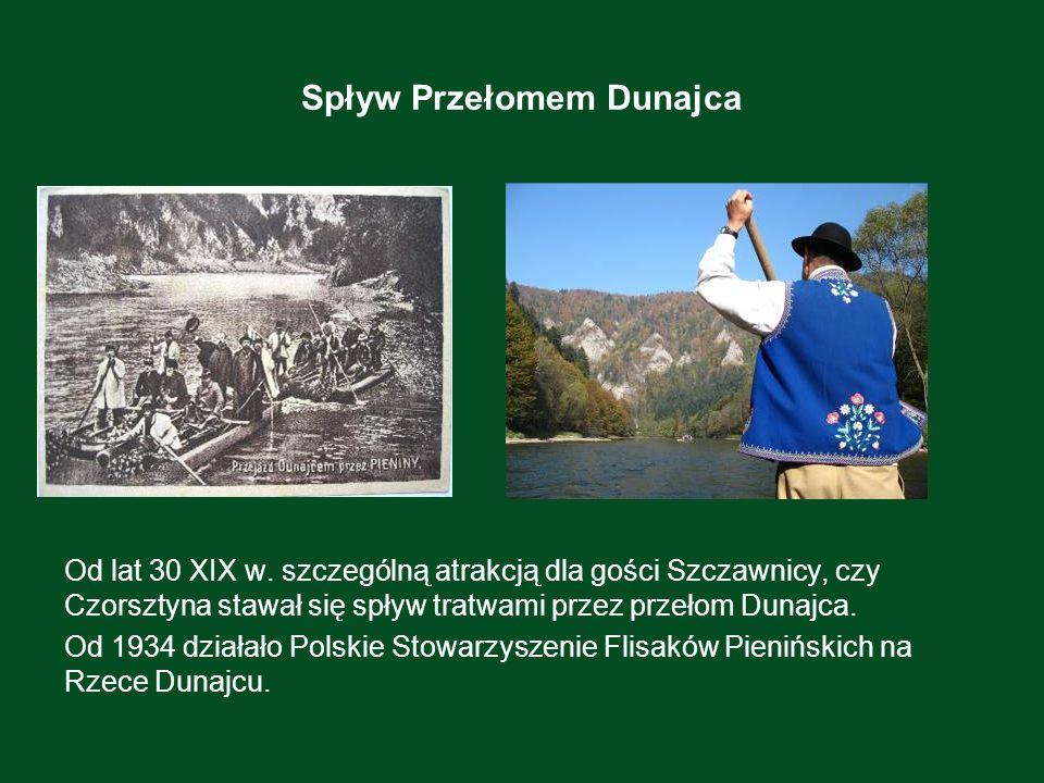Spływ Przełomem Dunajca