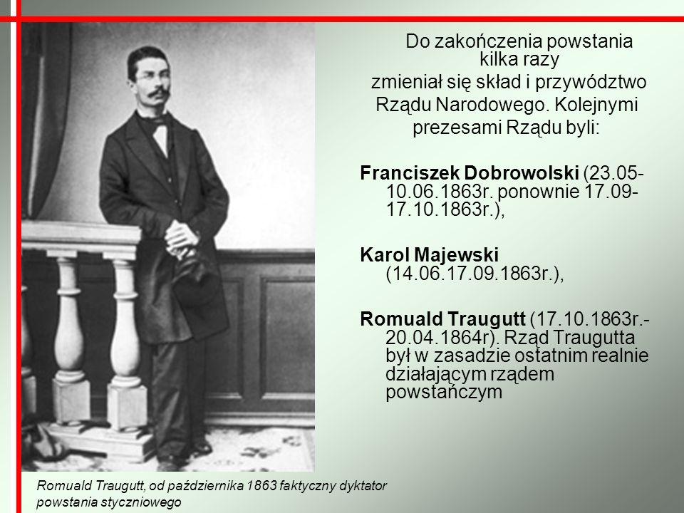 Jego misję próbował kontynuować Bronisław Brzeziński, chcący podtrzymać wrażenie trwania tajnej organizacji, działał w okresie od kwietnia do października 1864 roku.