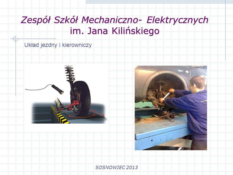 Zespół Szkół Mechaniczno- Elektrycznych im. Jana Kilińskiego SOSNOWIEC 2013 Oświetlenie pojazdu