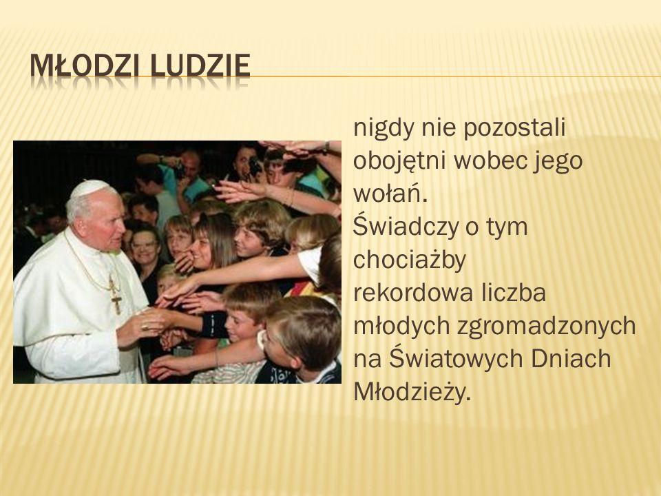 Największy autorytet naszych czasów.Papież pokoju, pojednania, przebaczenia.