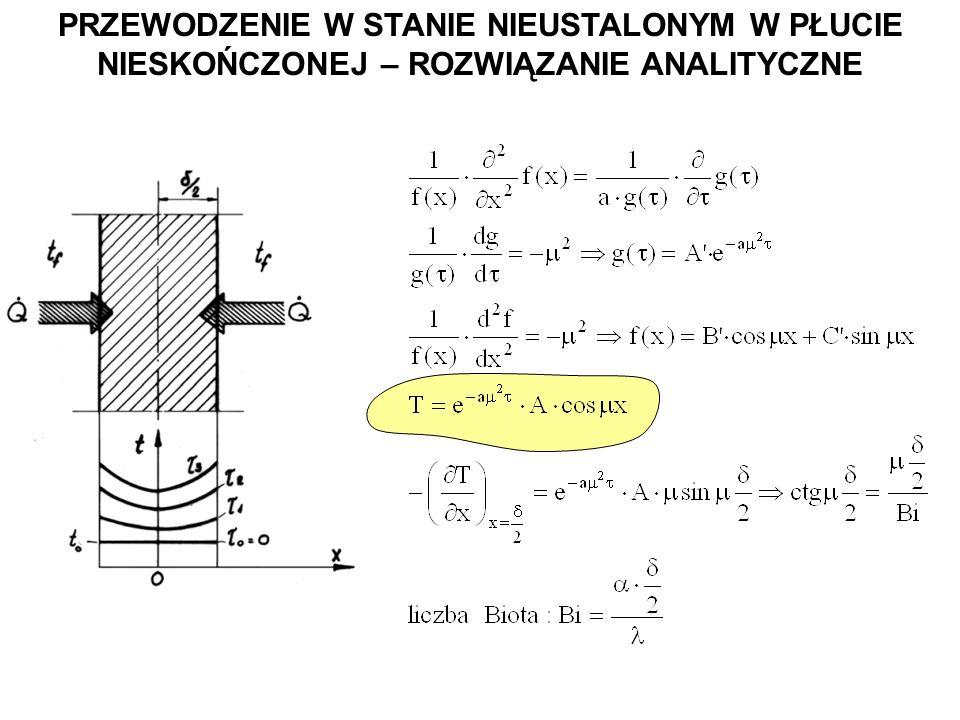 Uzyskana z powyższego równania wartość n daje rozwiązanie szczególne ze stałą A n.