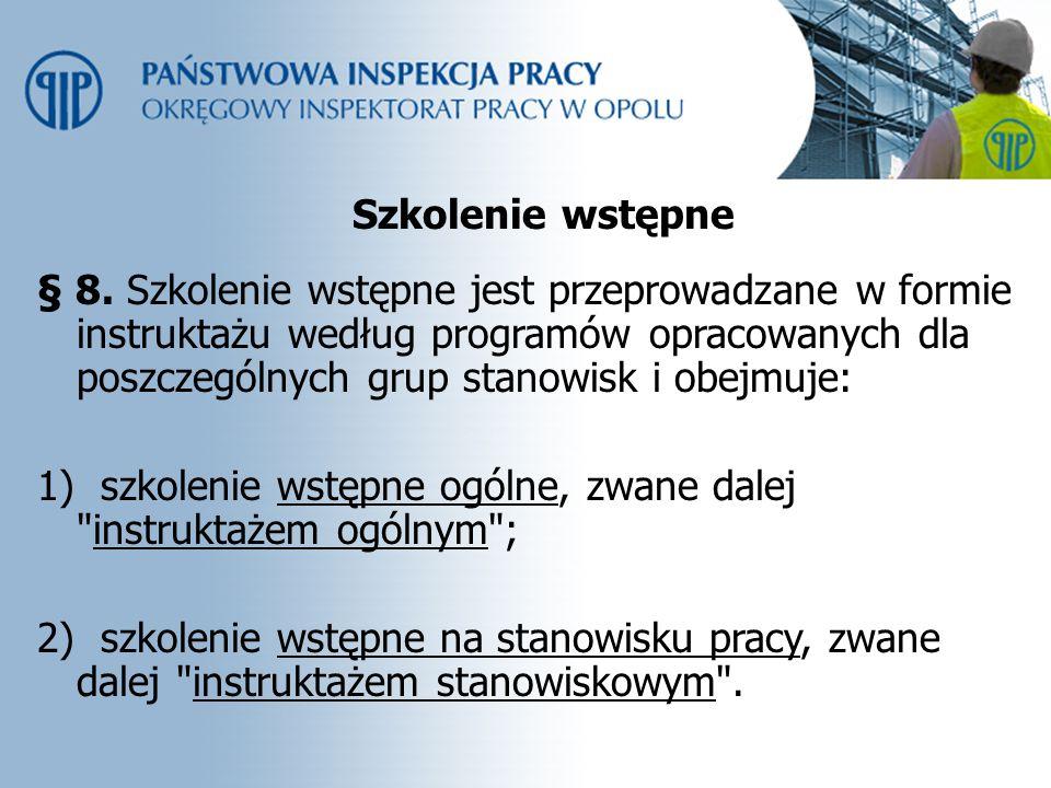 Potwierdzenie szkolenia § 12.1.
