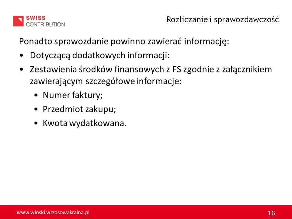 www.wioski.wrzosowakraina.pl 17 ZGŁOSZENIE imprezy artystycznej lub rozrywkowej* organizowanej w ramach Funduszu Sołeckiego * zakup artykułów spożywczych wyłącznie na cele ściśle związane z przeprowadzeniem danego rodzaju imprezy np.