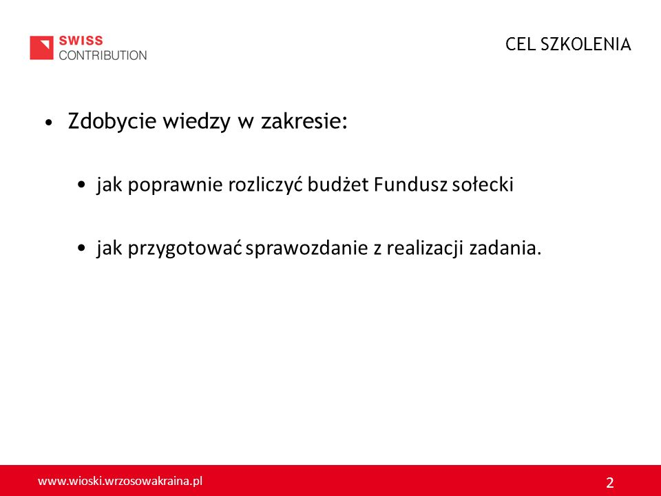 www.wioski.wrzosowakraina.pl 3 Jakie inicjatywy Państwo zaplanowali w 2012 w ramach FS.