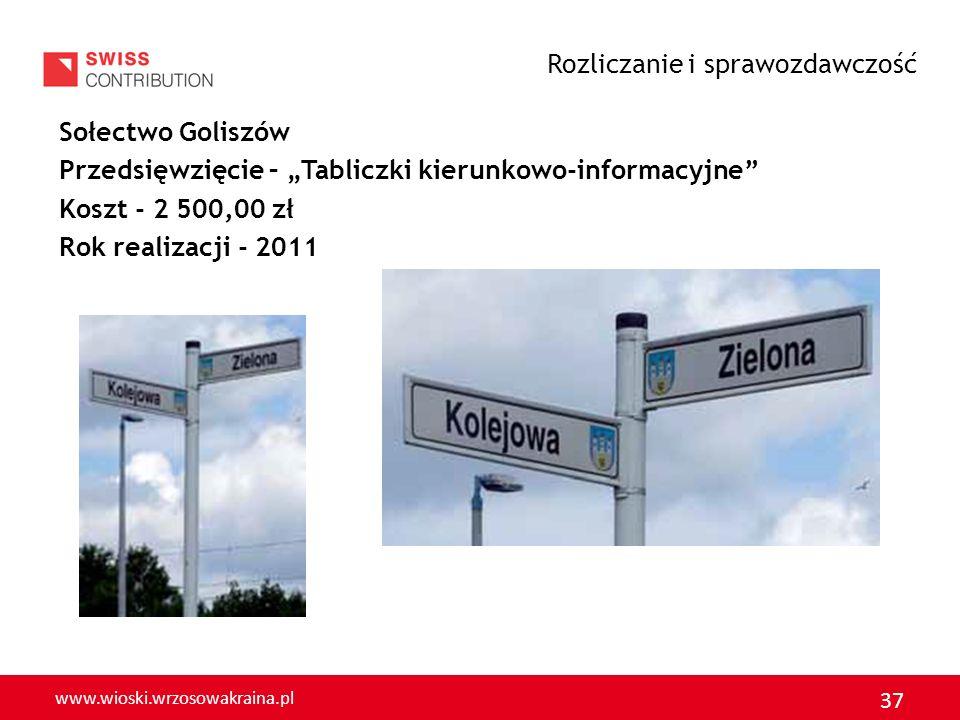 www.wioski.wrzosowakraina.pl 38 GMINA GROMADKA Rozliczanie i sprawozdawczość